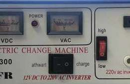 500W 12-24V AFR Inverter - with built in charger