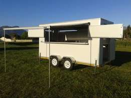 AA & QQ Food Walking Trailers !! Fully Equipped