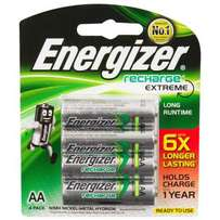 Energizer Rechargeable Extreme AA Batteries 2300mAh - Pack of 4 (New)