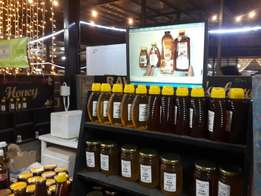Pure raw untreated HONEY for sale.