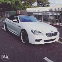 BMW 650 Cabriolet for Hire