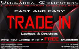 Trade In Your Old Laptop or Desktop Computer