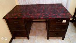 Office Table with 6 Drawers