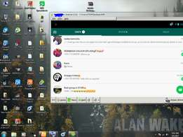 i can install whatsapp on your laptop/pc