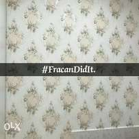 New Turkish floral wallpapers. Limited stock