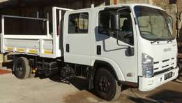 Isuzu NPR400 AMT Double cab tipper - BREAKING for PARTS !!!