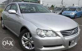 2007 Toyota Mark X used accident free