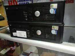 Core2 dell desktops with 2gb ram and 160gb harddisc