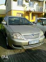 2004 Toyota corolla 160i in excellent condition