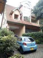 Magnificent 4-Bedroom Double Storey Townhouse To Let in Lavington
