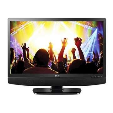 LG 24 Inch DIGITAL TV (24-MT48) Black 24 New 1 Year Warranty Laini moja - image 2