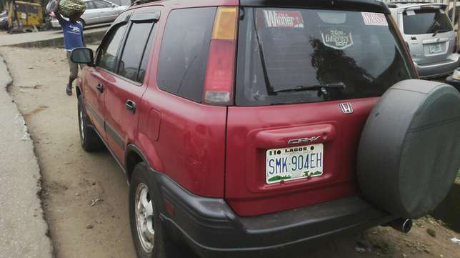 Nigerian used honda accord very clean first body Agege - image 4