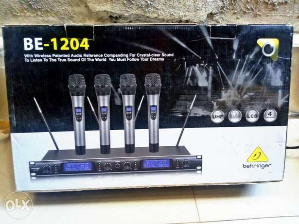 Quality BEHRINGER 4in1digital wireless mic Lagos Mainland - image 2