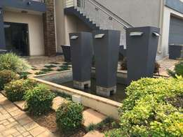 Stunning large 3 pot water feature