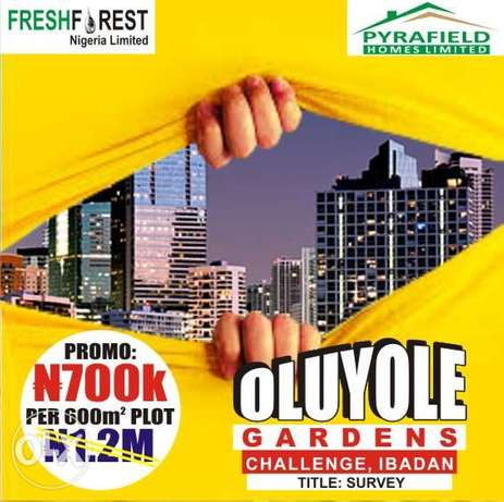 Secured and trusted Land at Ibadan most vibrant location Ibadan - image 1