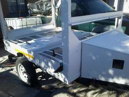 Bin cleaning trailer for sale