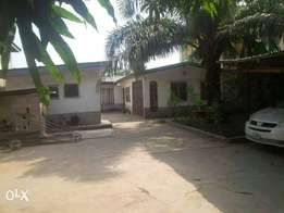 Nice 3Bedrm and mini flat bq on a plot at Navy Town For Sale