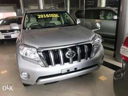 Toyota Prado 2.8L Diesel Engine. 2016 Model.
