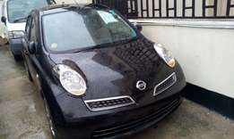 Black Nissan march