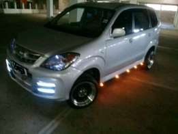 Toyota avanza with all the extras
