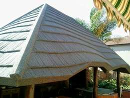 Harvey thatch re-roofing