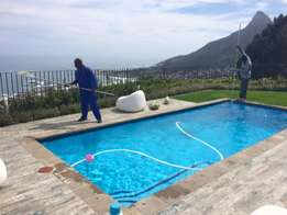 Swimming Pool, Pond and Jacuzzi cleaning services
