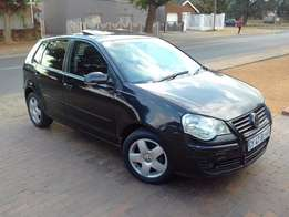 2008 VW Polo 1.9TDi 4 door accident free R65k neg