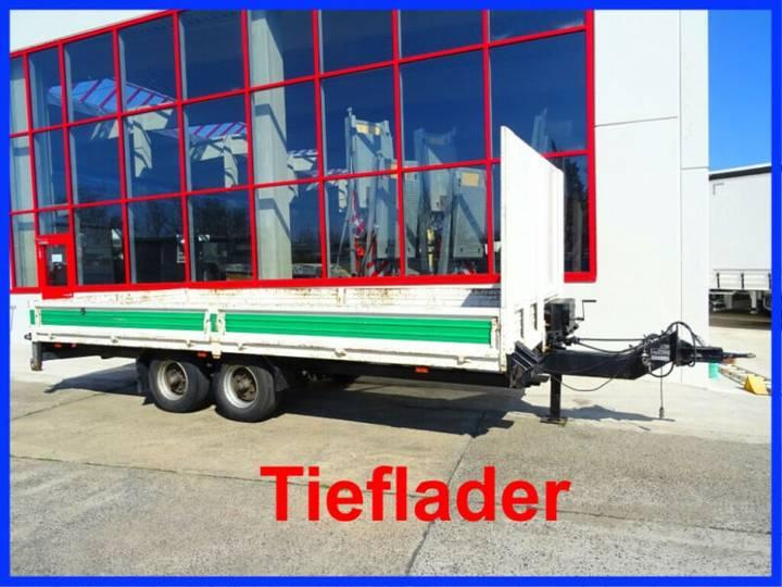 Blomenröhr Tandem- Pritsche- Tieflader - 1999