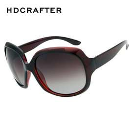 f0bc75797c HDCrafter Women Luxury Elegant Oversized Oval Polarized Sunglasses