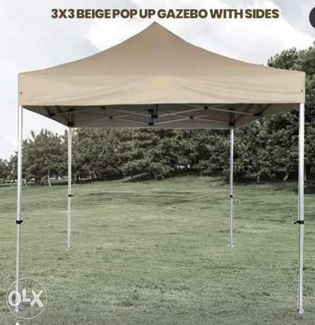 Heavy Duty 3x3 Pop Up Gazebo 25kg