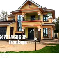 A Luxurious 4 br with sq house for sale at ruiru