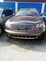 Clean Foreign Used Infiniti FX 45(Gold)