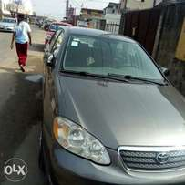 Clean 6 months used Toyota corolla