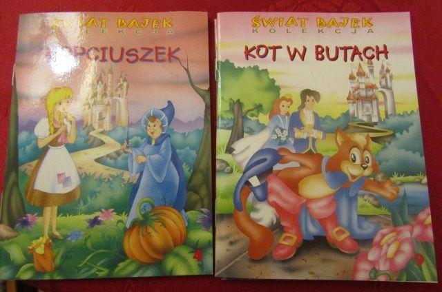 Książeczka Bajka Dla Dzieci świat Bajek Kot W Butach Poznań Stare