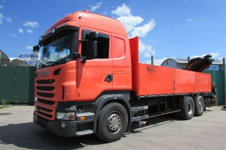 Scania R 440 6x2 - KRAN FALTBAR ATLAS 165.2 Nr.: 479 - 2010