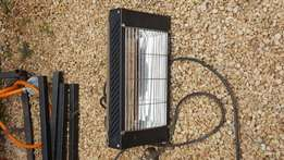 Radiant patio electric heater