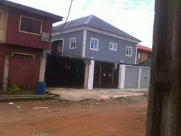 Newly built 2 bedroom flat at site & service, Abule odu, Egbeda