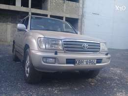 100 series vx 2003 sunroof 7 seater first owner indian