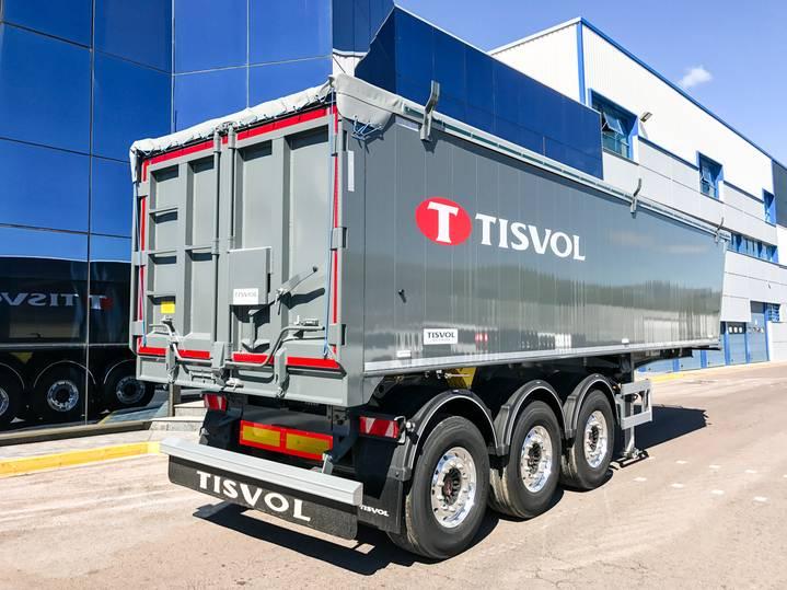 Tisvol naczepa V=42 m3 -5270 kg - 2017