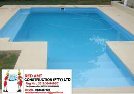 We Build Swimming Pools And Entertainment Areas .