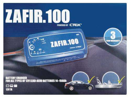 CTEK Zafir 100 Smart Battery Charger 12V 14-150 A excellent quality ch Tokai - image 3