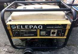 Original Elepaq SV3000E2 generator, Price reduced!