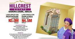 Hill Crest Estate Sabon Lugbe Abuja For Sale
