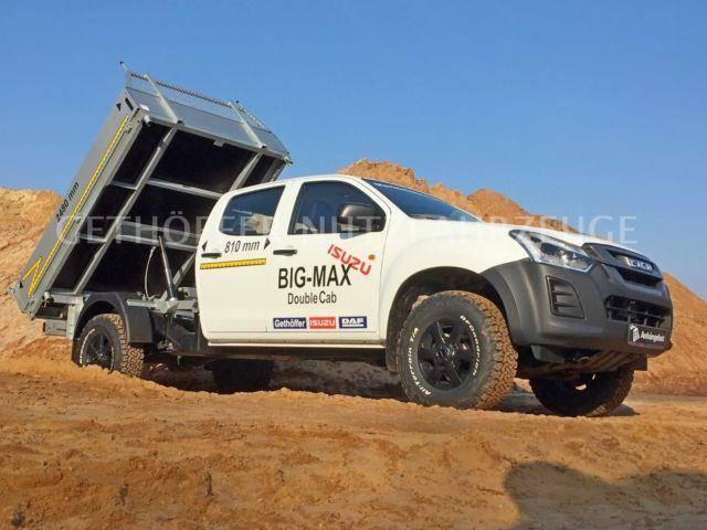 Isuzu Big Max 4x4 5 Sitze 2,5m Ladefläche 1t Nutzlast