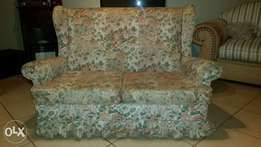 Double seater wingback couch