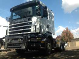 Scania R470 124g double diff truck on special