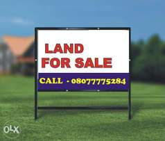 1 Plot of land in a very good location at Ogudu via GRA