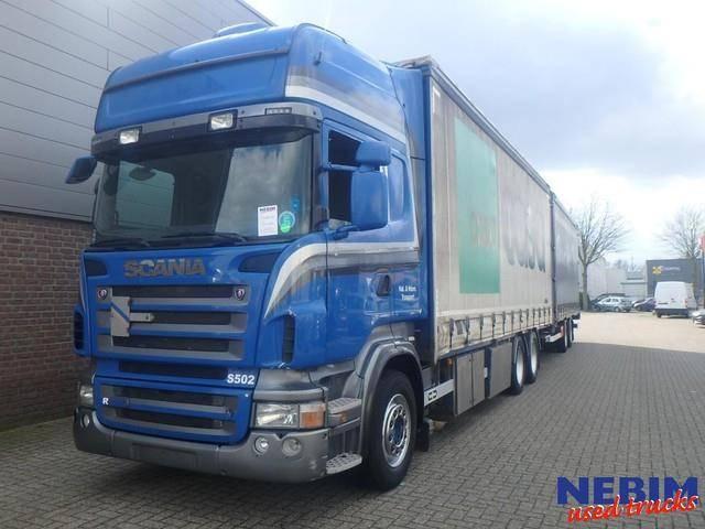 Scania R500 V8 Euro 5 Retarder + VanHool Trailer - 2009