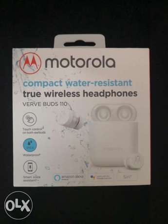 Motorola Vervebuds 110 True Wireless Compact Headphones IPX4