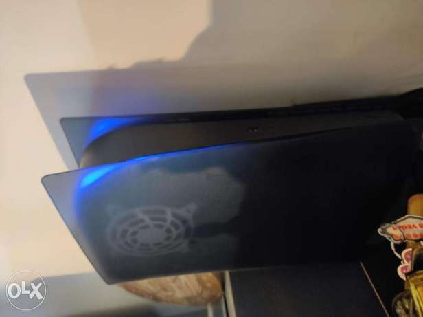 PS5 Frosted Black face plate